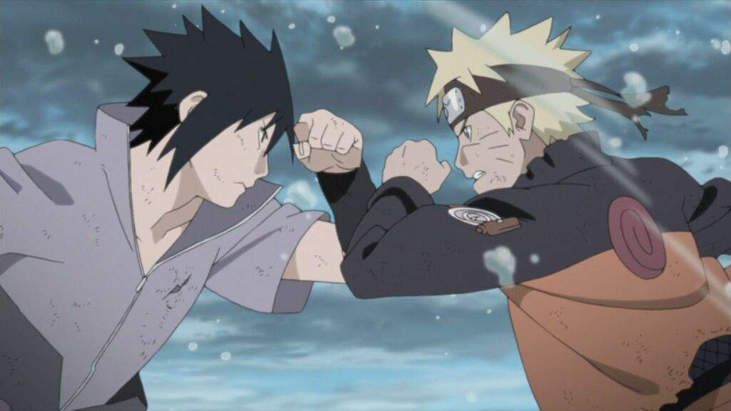 naruto vs sasuke final fight anime amino