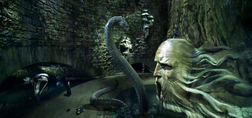 Resultado de imagen de imagen basilisco harry potter