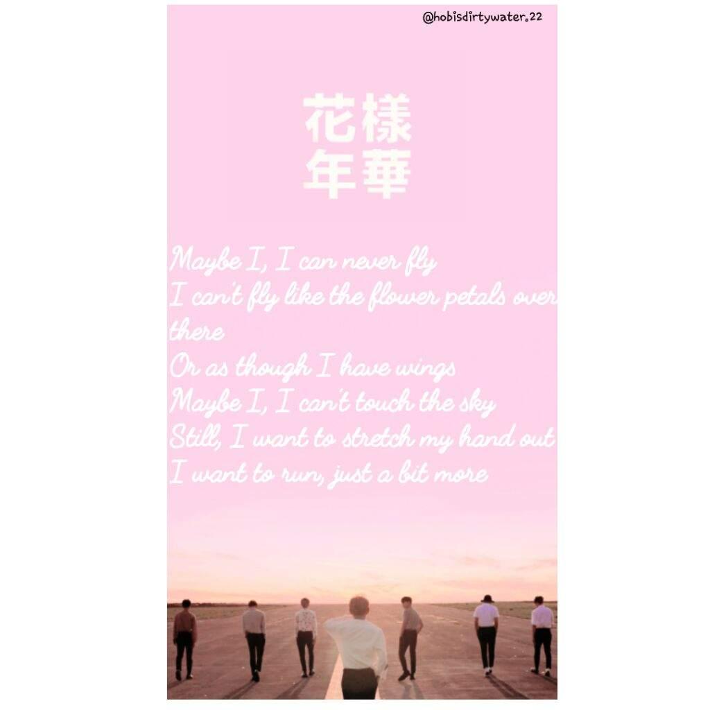 Bts Wings Song Lyrics Wallpapers K Pop Amino