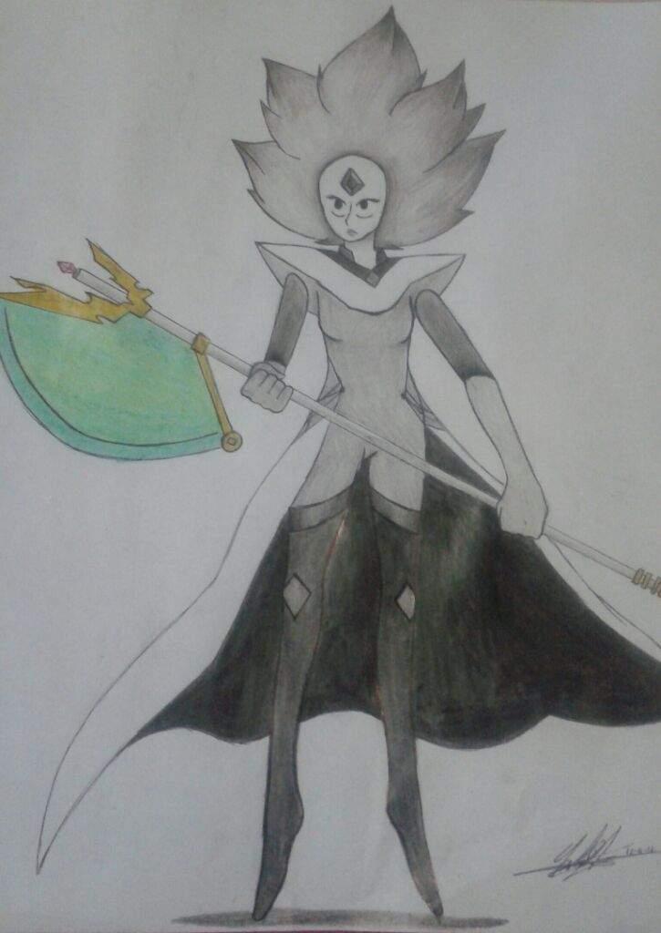 EL ARMA DE DIAMANTE BLANCO💎💎 | Steven Universe Español Amino