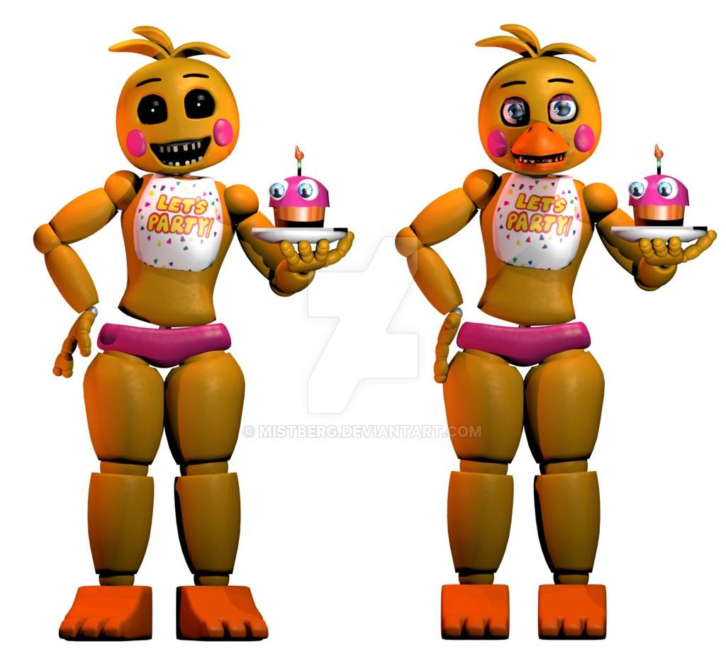 Chica Toy Chica Favourites By Goldenafro On Deviantart: My Top 10 Favorite Animatronics