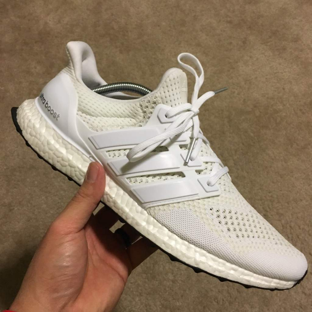 cbb275e7d ... promo code for octoberkicksday13 adidas ultra boost v1 triple white  sneakerheads amino 8fe4d ffa74