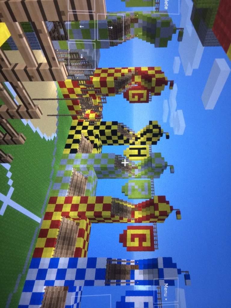 Minecraft Quidditch Field Harry Potter Amino