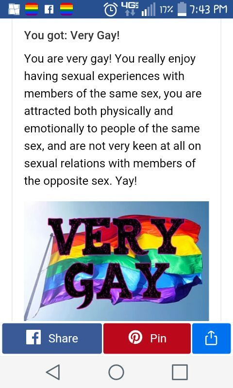 How gay are you quiz