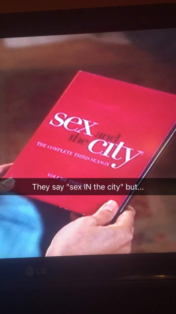 Charmed sex and the city