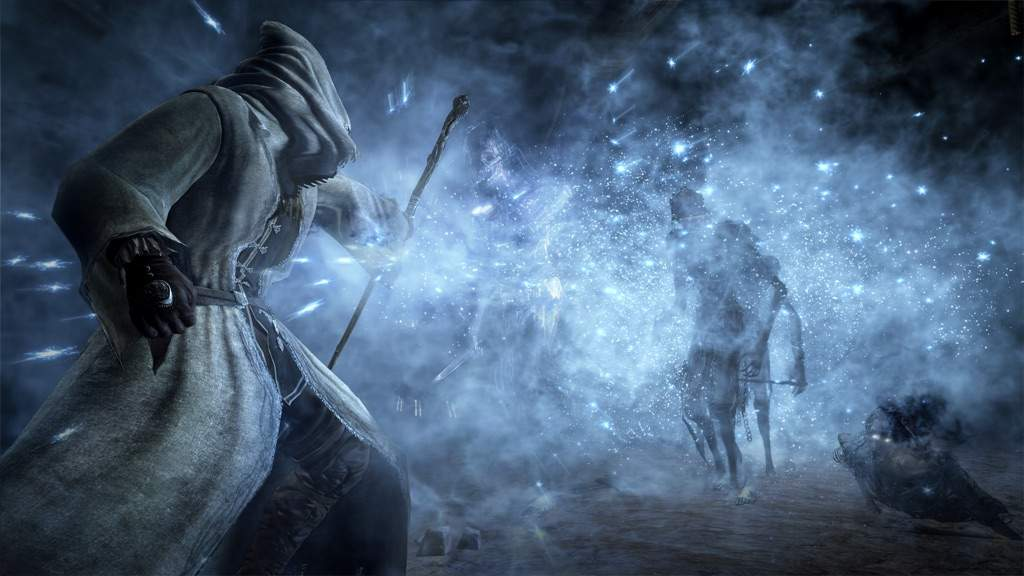 think the ice magic shown in the ds3 dlc will be good dark souls