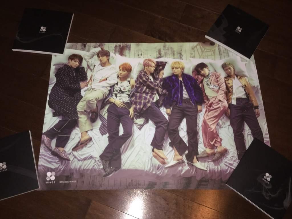 BTS WINGS Album Unboxing   K Pop Amino