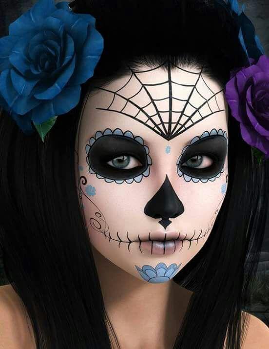 Maquillaje De Catrina Maquillaje Y Moda Amino