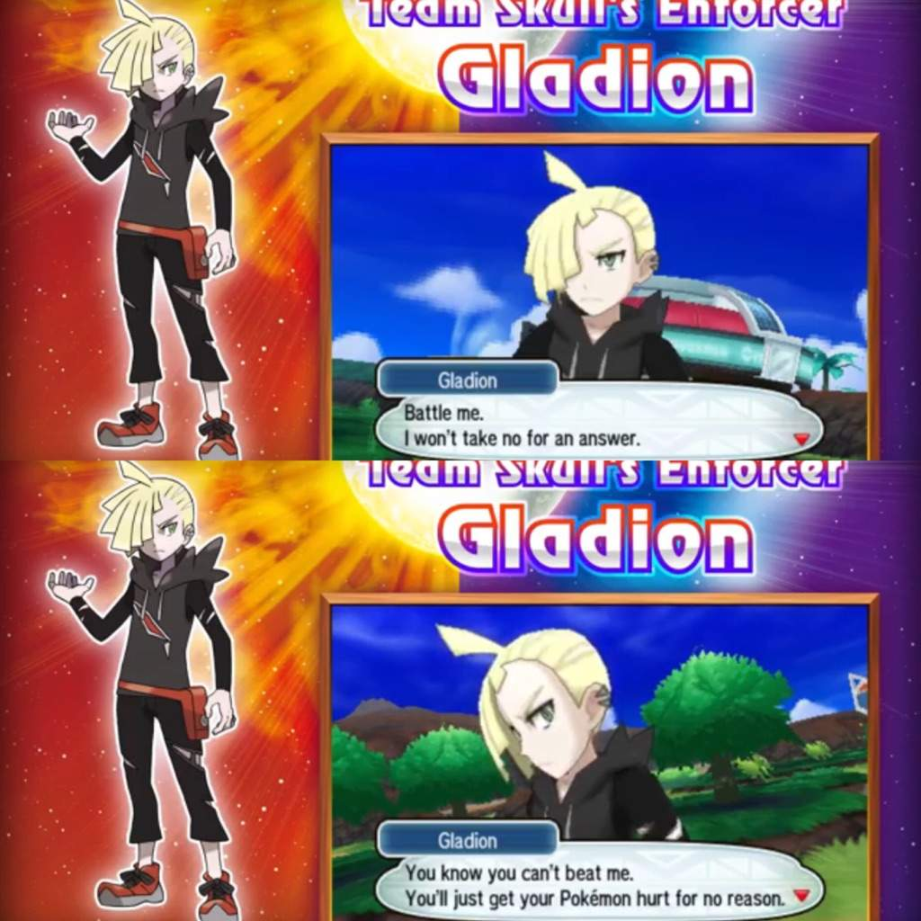 What does Gladion's shaking hand mean? Here are my thoughts
