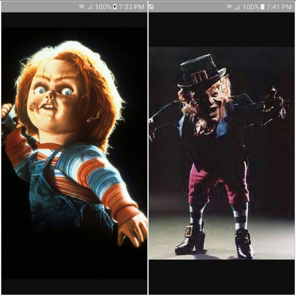 chucky vs leprechaun horror amino