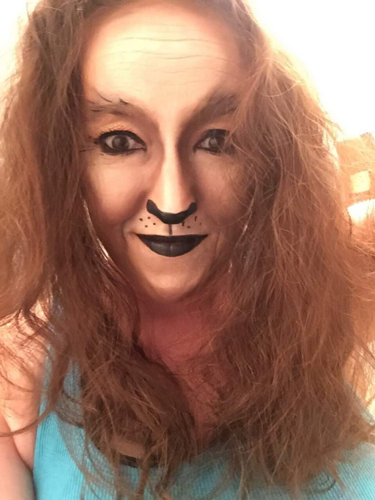 Day 19 Cowardly Lion Makeup Cosplay Amino Lionmakeup Costest 31daysofhalloween