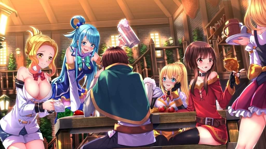 End of the novel web Konosuba (Mini-summary) | Anime Amino