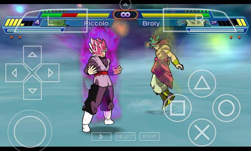 Jogou dragon ball super (mod do dragon ball z shin budokai 2
