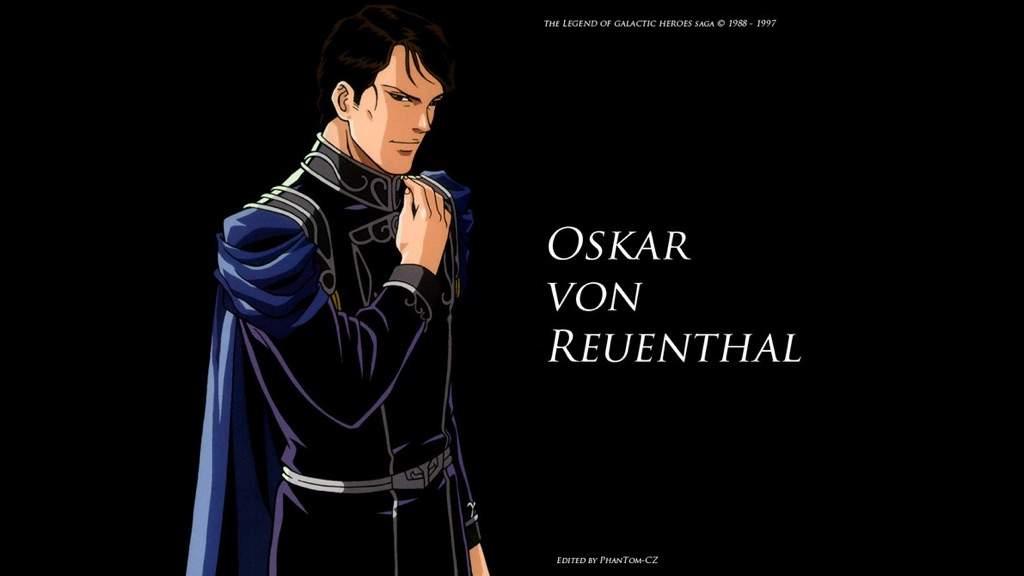 Oskar von Reuenthal (Ginga Eiyuu Densetsu) - MyAnimeList.net