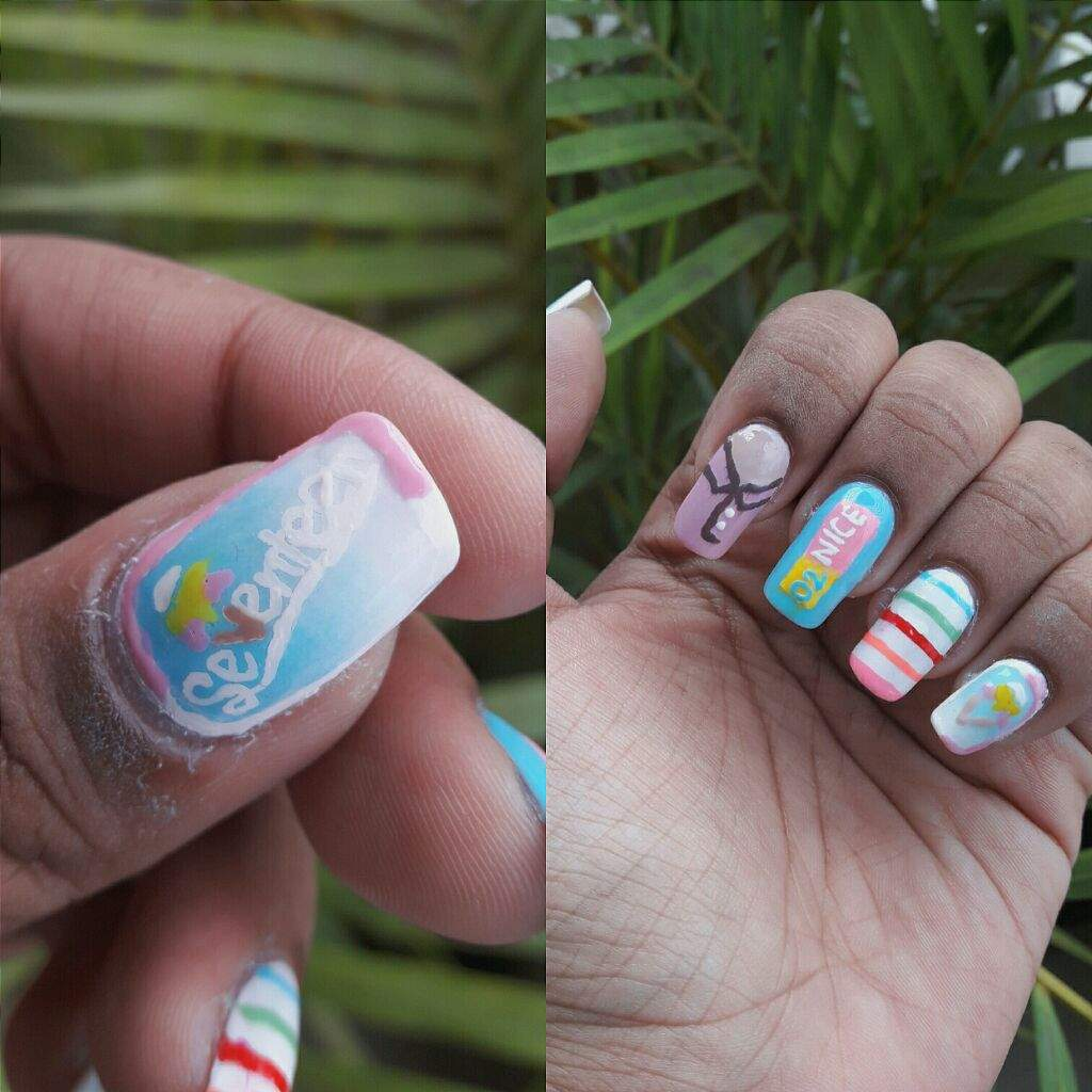 Some of my Kpop Nail Art~💕 | K-Pop Amino