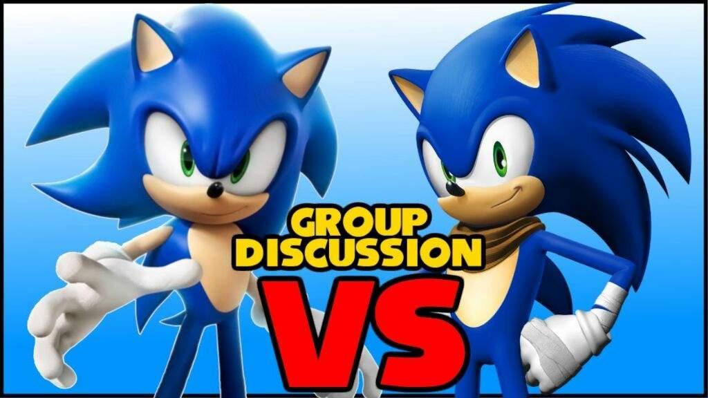 Modern Sonic Vs Sonic Boom Sonic The Hedgehog Amino