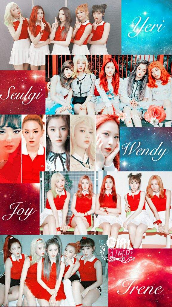 레드벨벳 Red Velvet Wallpaper Edit K Pop Amino