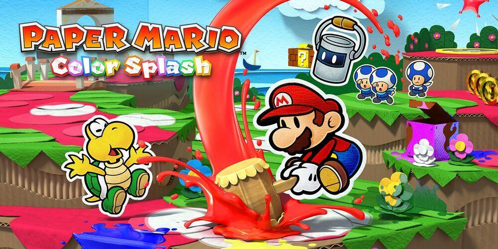 Spoilers Mario Kart References In Paper Mario Color Splash