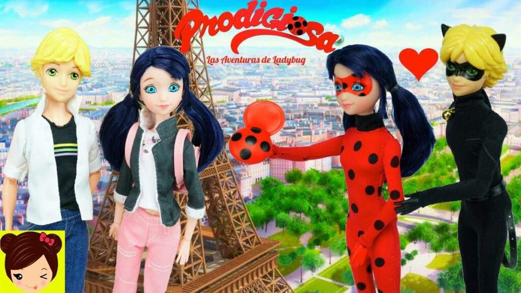 Los Invito Al Canal De Los Juguetes De Titi Miraculous Ladybug