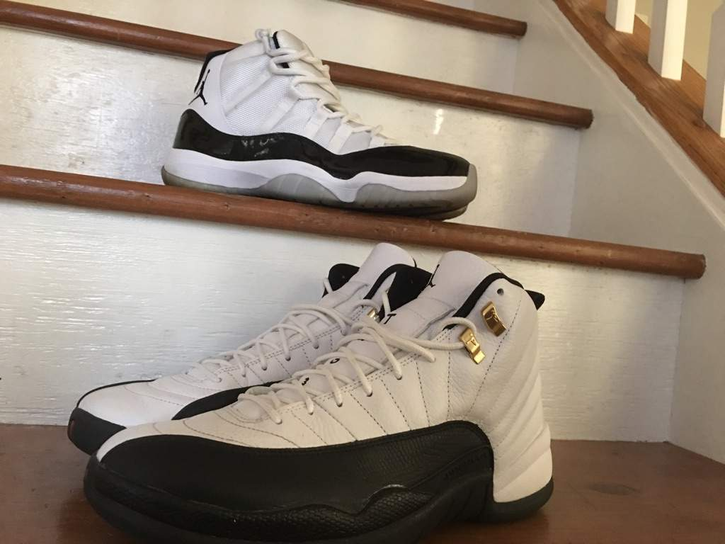 578fa4c5597e8c ... and beat them to shit) and was able to scoop them up at Sneakercon.  Today s post are the Air Jordan Retro 11 Concord and the Air Jordan Retro  12 Taxi.