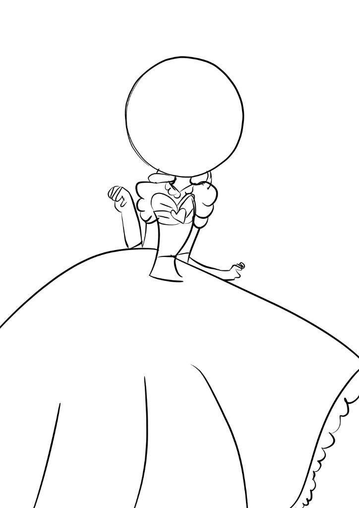 Como hacer vestidos para dibujar