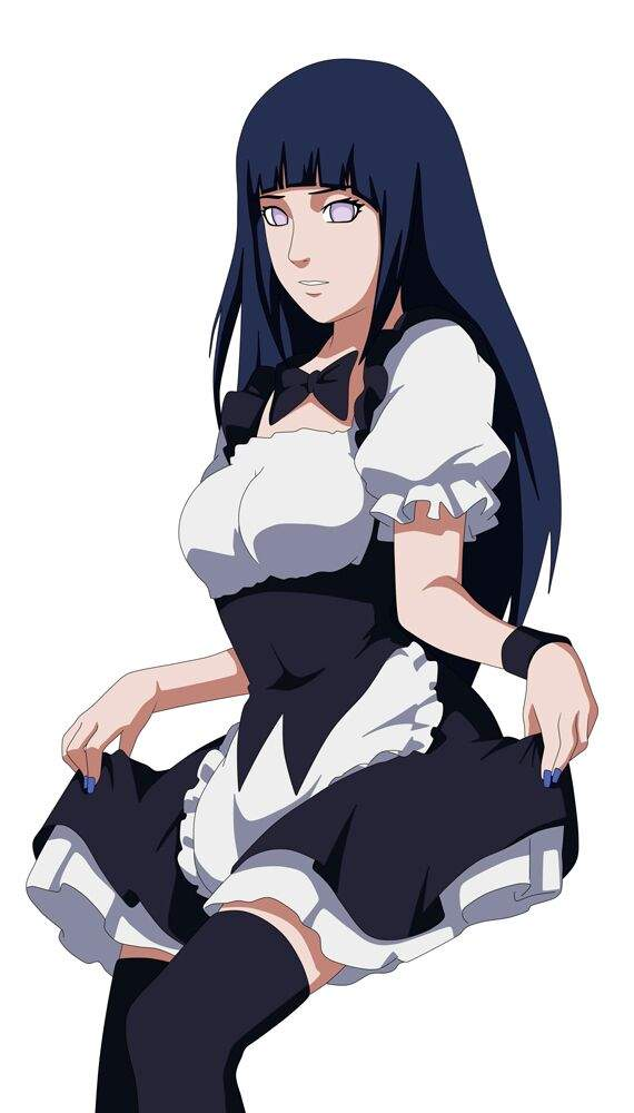 Resultado de imagen para hinata maid