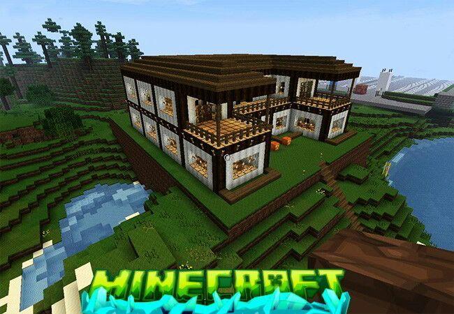 C mo hacer una casa en minecraft minecraft amino for Como aser una casa moderna y grande en minecraft