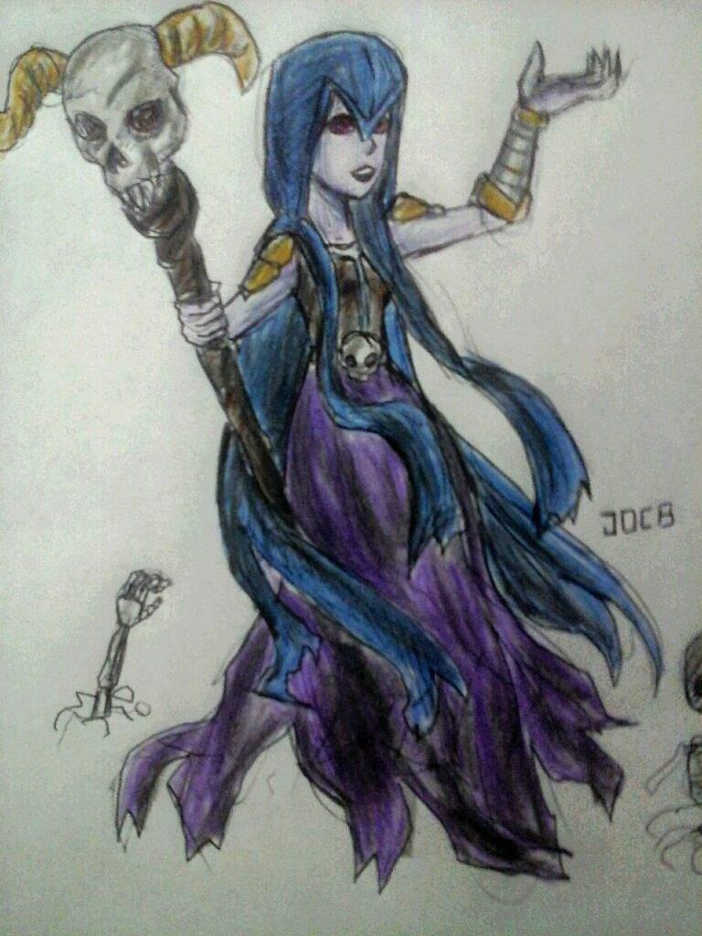 Un dibujo de la bruja xD   Clash Royale Amino  Amino