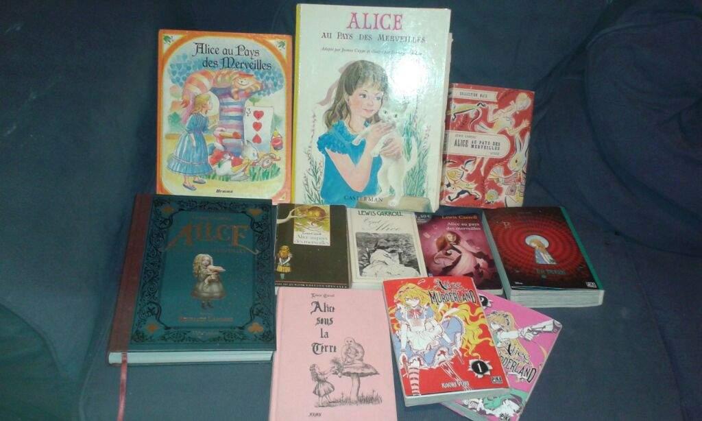 Ma Collection De Livre D Alice Au Pays Des Merveilles