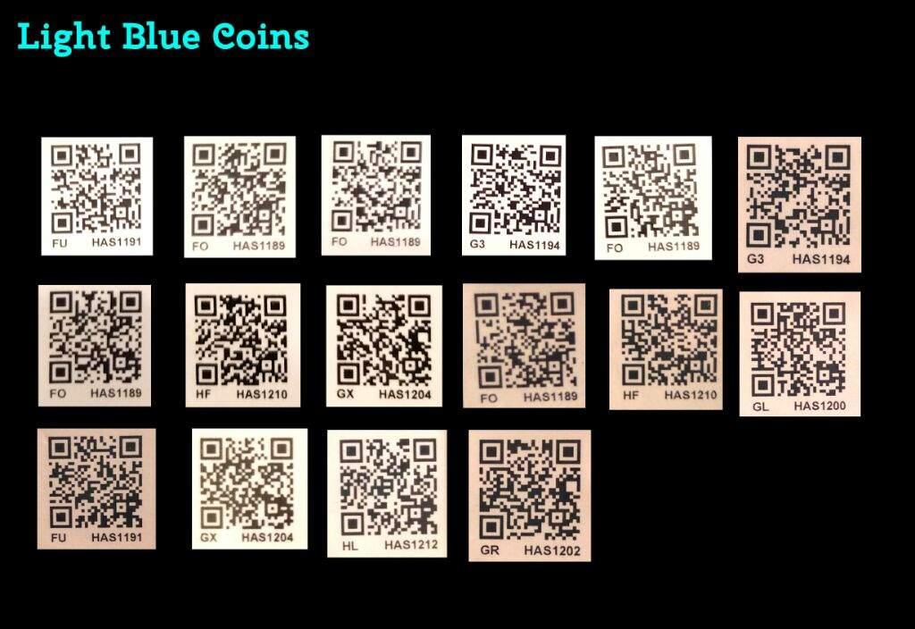 yo kai watch blue coin qr codes