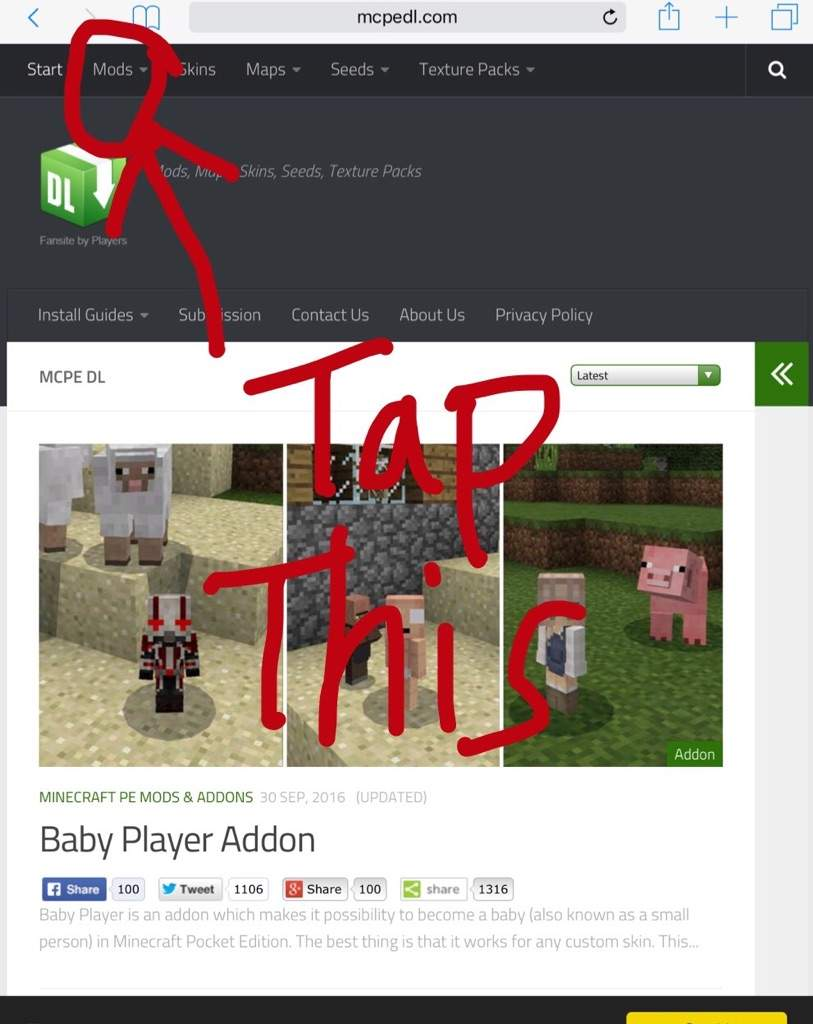 How to download addons ios mcpe tutorial minecraft amino step 3 select addons baditri Image collections