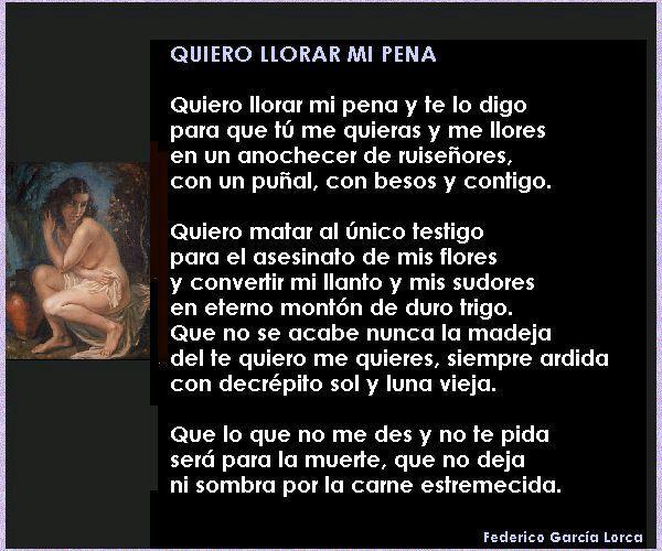 Federico Garcia Lorca Arte Poemas Y Escritos Amino