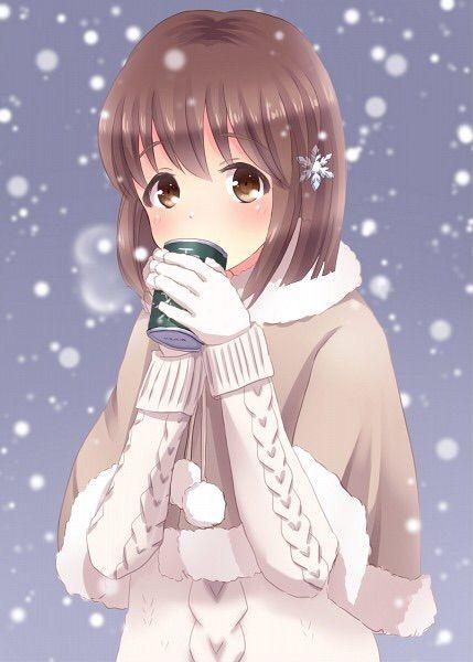 Yukiho hagiwara anime amino - Winter anime girl wallpaper ...