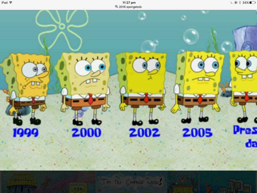 100 years later spongebob
