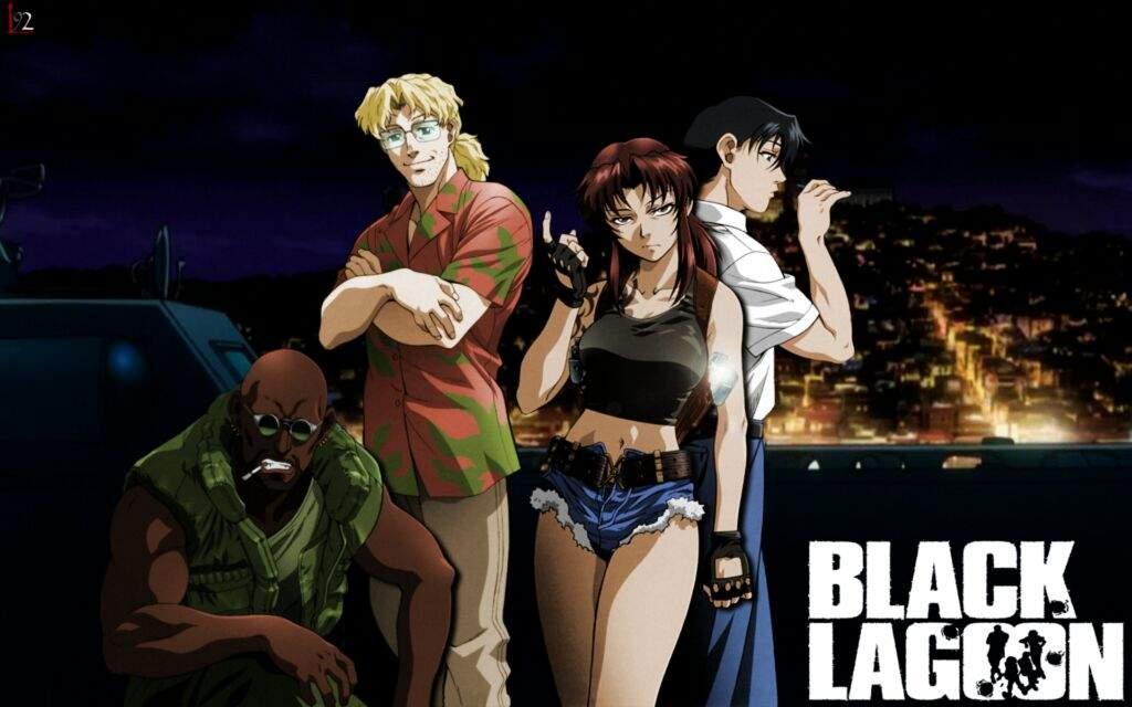 Resultado de imagem para black lagoon sinopse