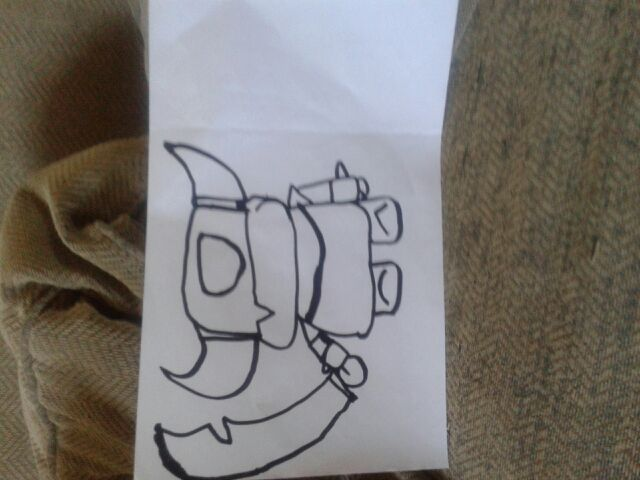 Mi dibujo de mini pekka   Clash Royale Amino  Amino