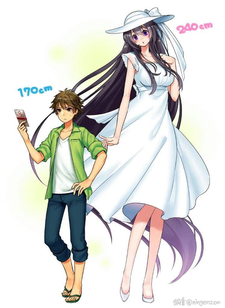 6 Foot Tall Anime Characters : Eight feet tall or quot hachishakusama anime amino