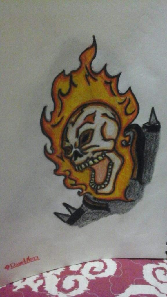 Mis Dibujos De Venompool Y Ghost Rider Apoyame Con Tu Me Gusta