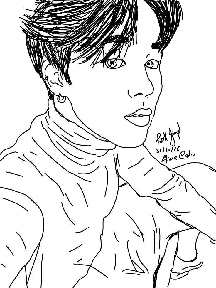Desenhos Outlines Estilo Tumblr Kpop Amino