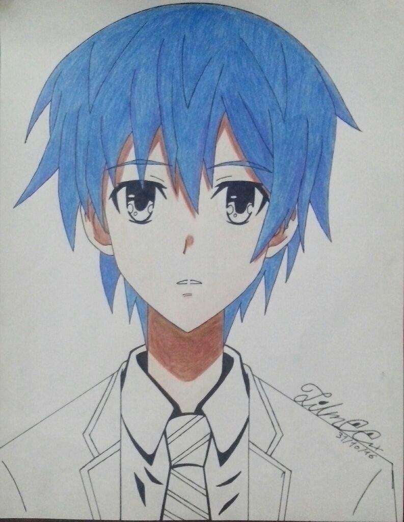 Dibujo De Itsuka Shido Anime Amino