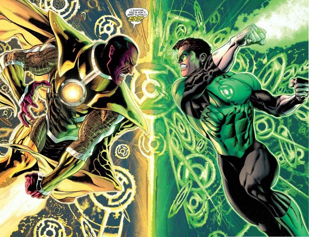 szybka dostawa kupować najlepsza moda Hal Jordan vs Sinestro (popularity poll) | Comics Amino