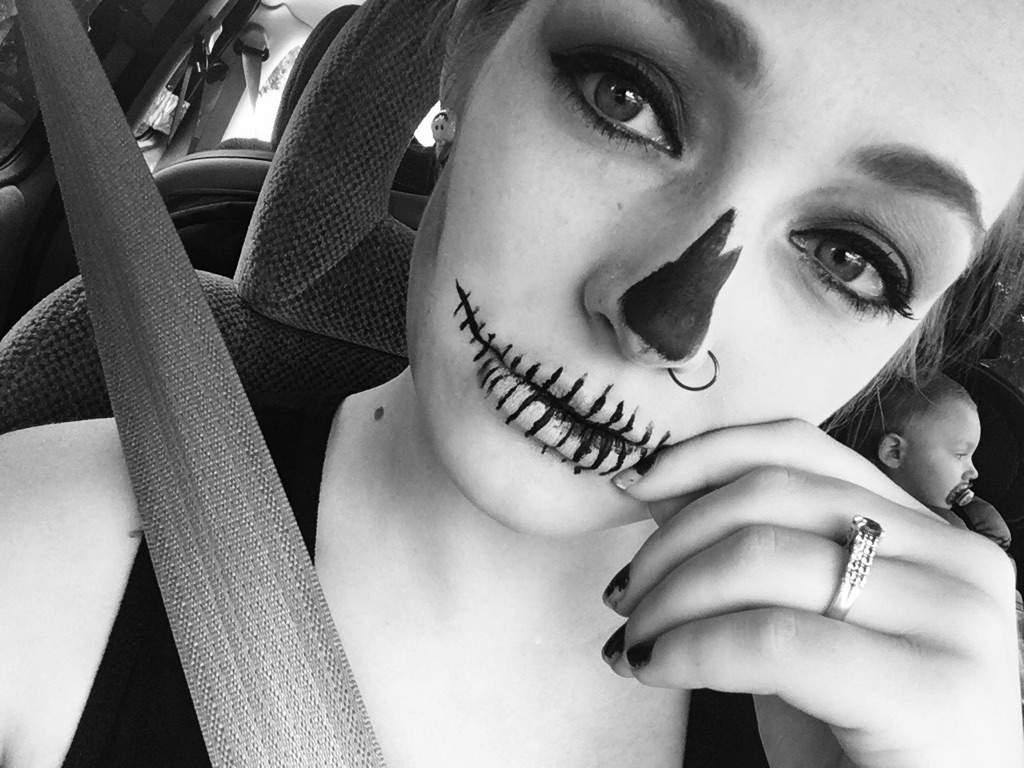 halloween makeup!! 🎃🕸 | horror amino