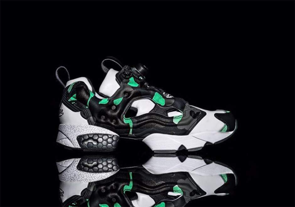 5452ce9ac408f1 However both the sneakers look sick. BAPE added their signature camo look  on these which looks great. The BAPE nmds are cool...but these reeboks give  them ...