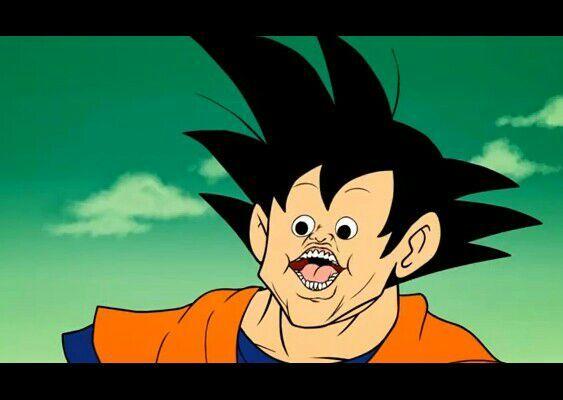 Goku cara rara  DRAGON BALL ESPAOL Amino