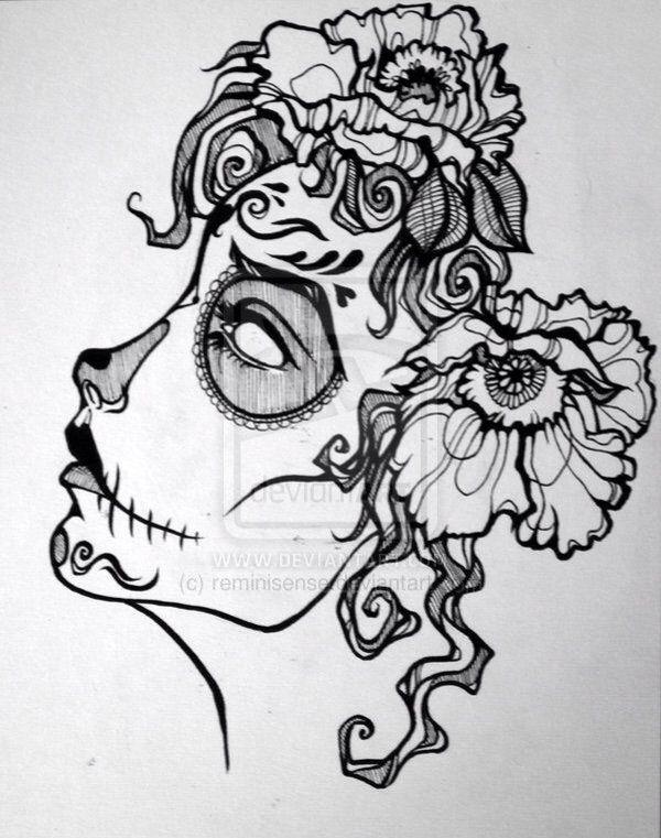 Mexicanas Catrinas Artelista Zombie Grafito Lápiz Www