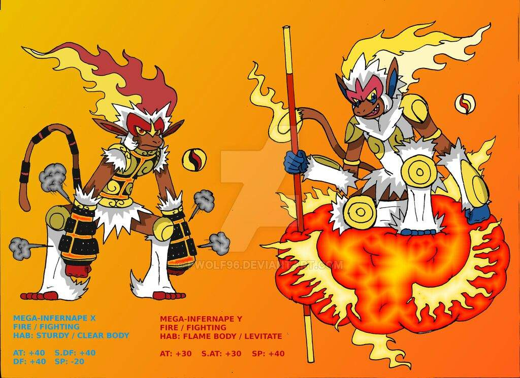 Mega Infernape Pokemon X And Y