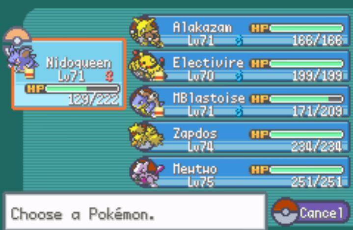 Mi equipo de pokemon rojo fuego pok mon en espa ol amino for Gimnasio 8 pokemon rojo fuego