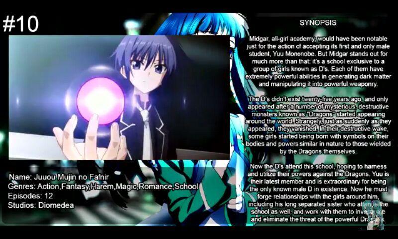 10 Action Magic Animes