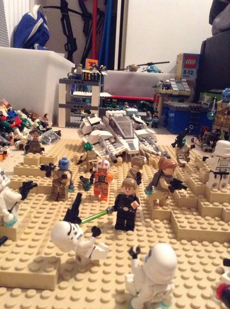 Lego Star Wars Battlefront: Battle on Jakku MOC | LEGO Amino