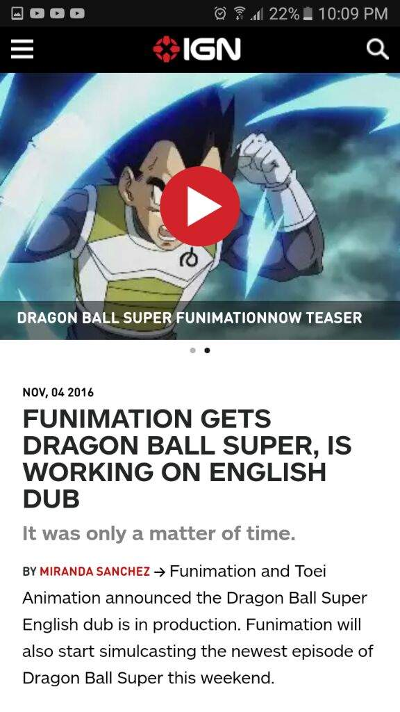 dragon ball super english dub confirmed dragonballz amino